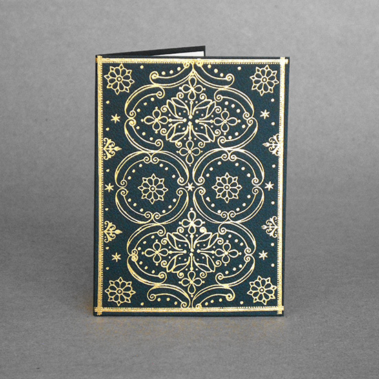 English Binding card (small)