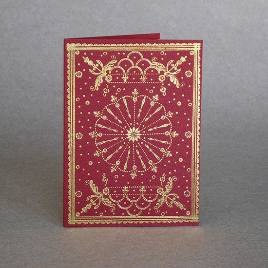 Scottish Binding card (small)